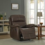 Berenguela Faux Leather Power Recliner by Latitude Run®