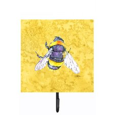 Bee Wall Hook by Caroline's Treasures