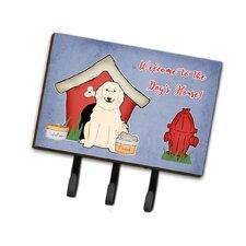 Dog House Great Pyrenese Leash or Key Holder by Caroline's Treasures