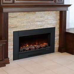 Modern Flames ZCR Series Electric Fireplace Insert  Reviews Wayfair - Fireplace inserts electric