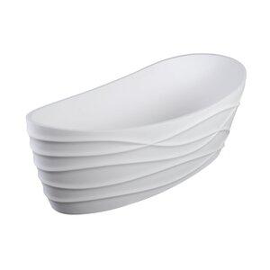 Dune II 68 x 34 Freestanding Soaking Bathtub Clarke Products