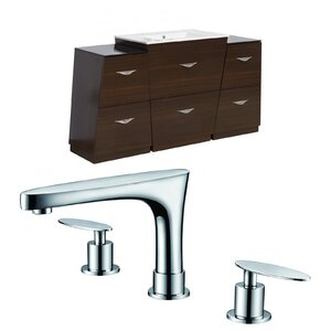 Vee 63 Single Bathroom Vanity Set American Imaginations