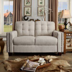 Delicia Tufted Loveseat by iNSTANT HOME
