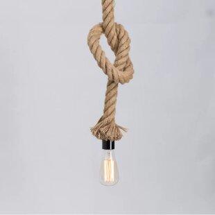 Longshore Tides Milania 1-Light Bulb Pend..