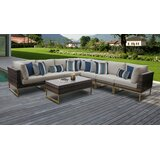 Nauvoo 8 Piece Sectional Seating Group with Cushions