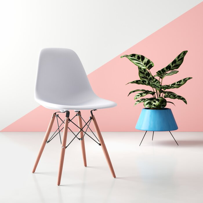 Outstanding Wrenshall Social Mid Century Side Chair Spiritservingveterans Wood Chair Design Ideas Spiritservingveteransorg