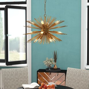 Mercer41 Kuebler 12-Light Sputnik Chandelier