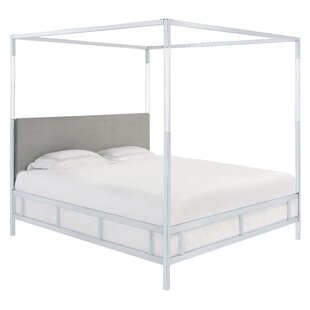 Bowdoin Upholstered Low Profile Canopy Bed