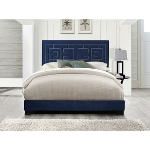 Harrold Fabric Queen Upholstered Panel Bed