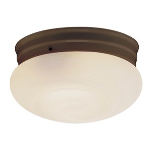 Winston Porter Marley 1-Light Flush Mount