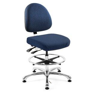 Orren Ellis Petoskey Ergonomic Drafting Chair