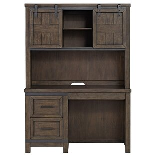 Affordable Sallie Double Barn Door 50 W Computer Desk By Greyleigh