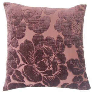 Cenobia Floral Throw Pillow Cover
