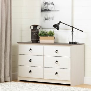 Plenny 6 Drawer Double Dresser