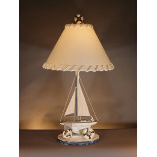 Low priced Sailboat 32 Table Lamp By Judith Edwards Designs