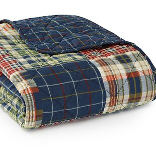 Madrona Quilted Cotton Throw
