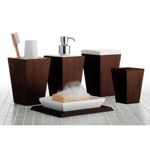 Kyoto 5-Piece Bathroom Accessory Set By Gedy by Nameeks