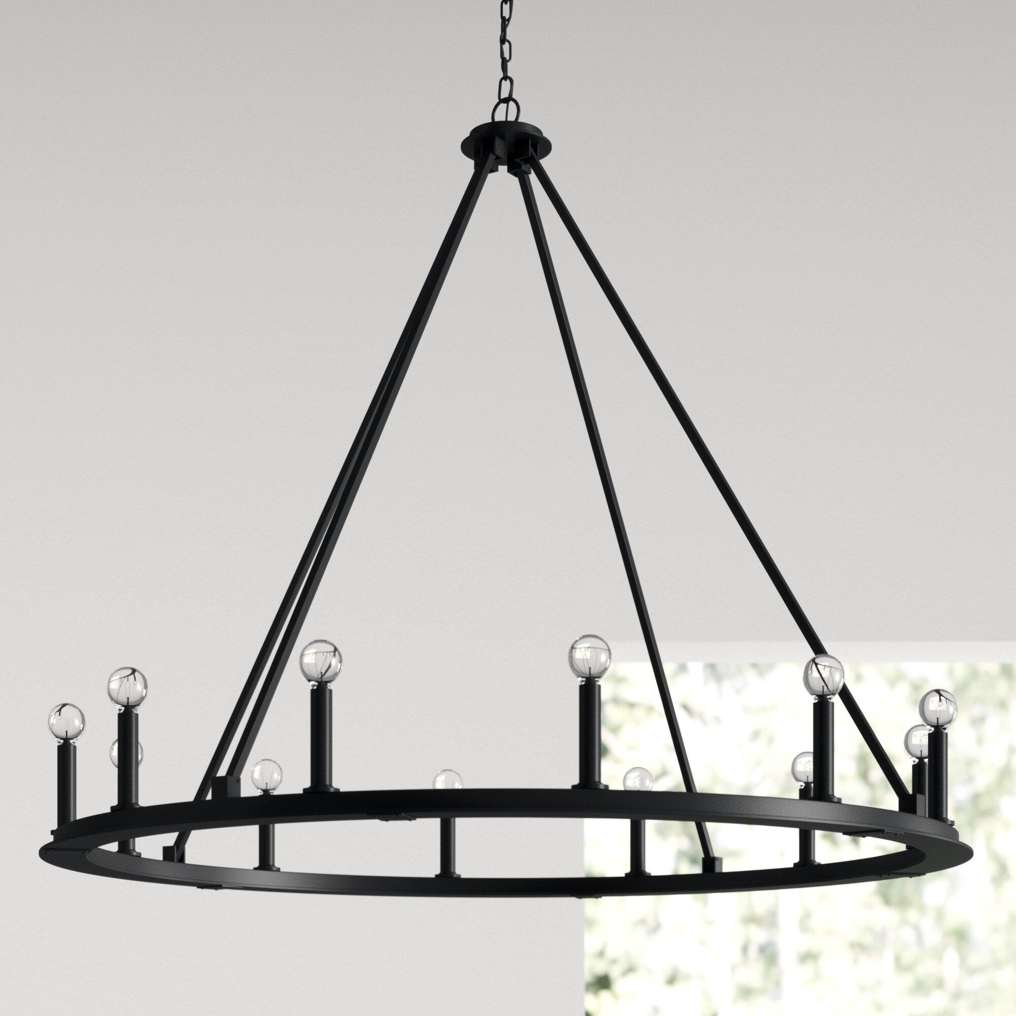 Picture of: Black Finish Cottage Country Chandeliers You Ll Love In 2020 Wayfair