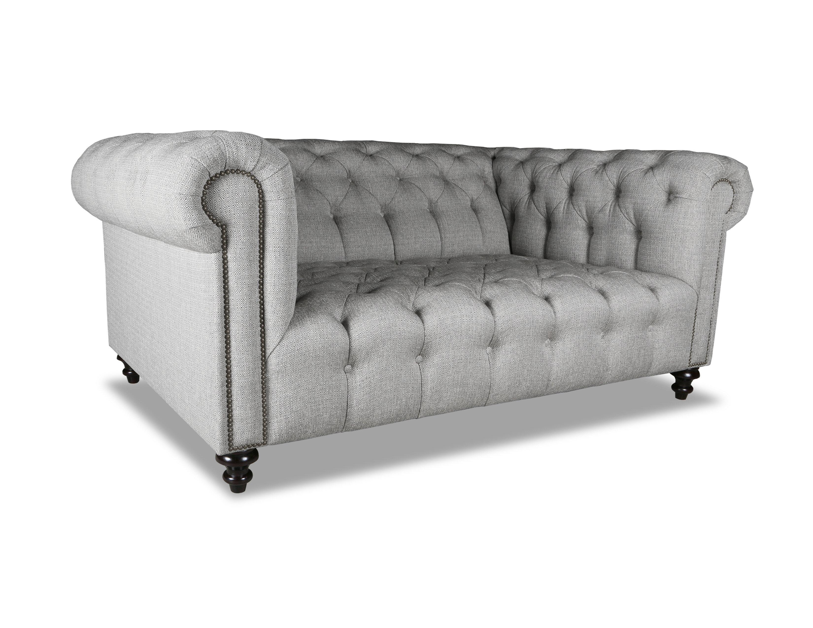 Estill Plush Deep Chesterfield Sofa
