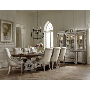 Chirk Trestle Extendable Dining Table Astoria Grand