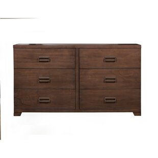Greenfield 6 Drawer Double Dresser by George Oliver