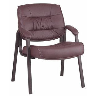 Leather Guest Chair by Office Star Products