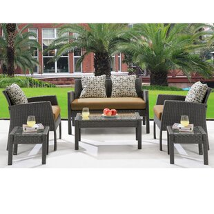 Alcott Hill Rivertown 6 Piece Sofa Set with Cushions