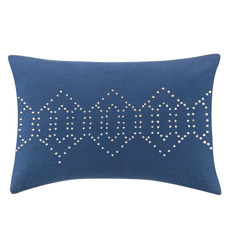 Bungalow Rose Choudhury Decorative Cotton Lumbar Pillow Wayfair