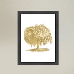a67887fd3128 Weeping Willow Tree Framed Graphic Art