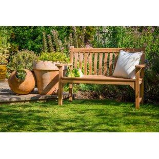 Bufton Teak Bench By Sol 72 Outdoor