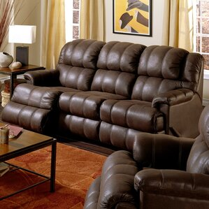 Harlow Leather Reclining Sofa by Palliser Furniture