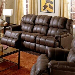 Harlow Leather Reclining Sofa by Palliser Fu..