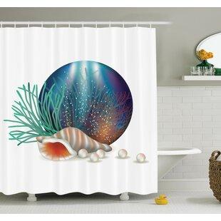 Underwater Ocean Shower Curtain Set