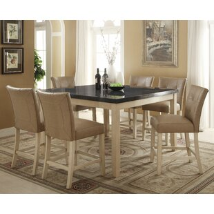 Lovette 7 Piece Pub Table Set