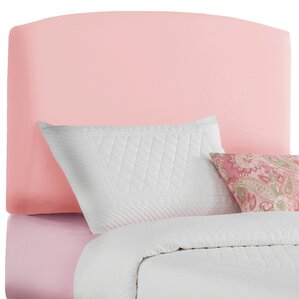 Duck Cotton Upholstered Headboard by Skyline Furniture