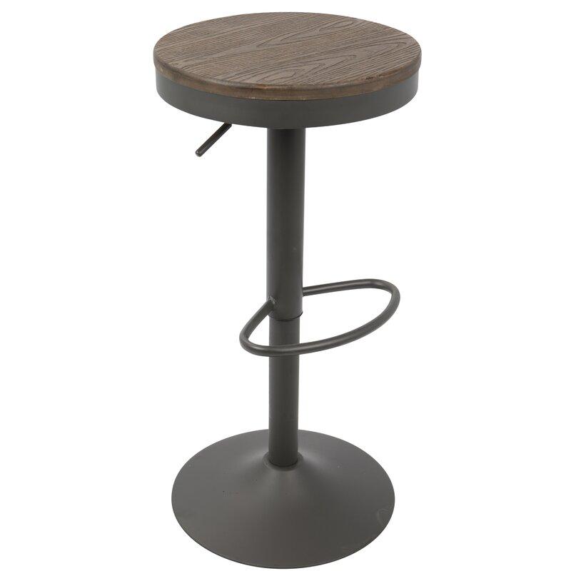 Awesome Chambord Adjustable Height Swivel Bar Stool Uwap Interior Chair Design Uwaporg