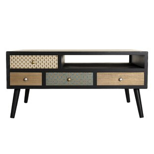 Goodlett Coffee Table With Storage By World Menagerie