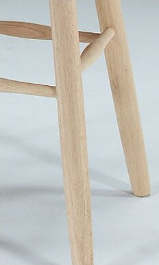 Toby 24 Swivel Wood Bar Stool