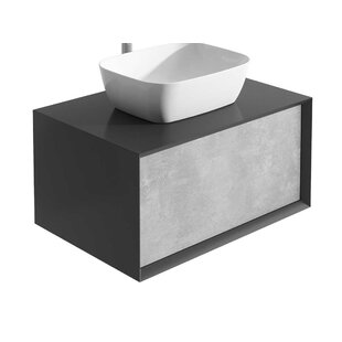 Downie 80cm Wall Mounted Vanity Unit Base By Ebern Designs