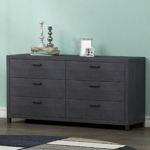 Edwidge 6 Drawer Double Dresser