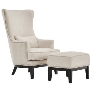 Caistor Wingback Chair by Three Posts