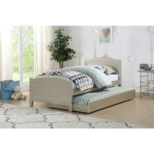 Feder Modish Twin Bed with Trundle by Harriet Bee