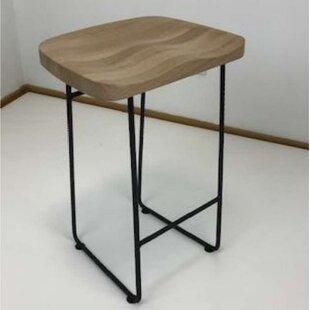 Ebern Designs Black Seat Bar Stools