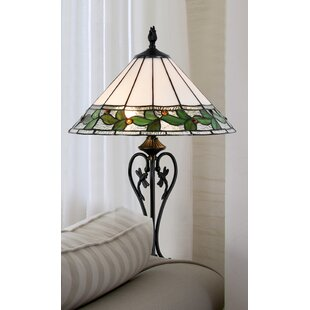 Cinderford Green Leaves 25 Table Lamp
