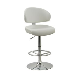 Truax Adjustable Height Swivel Bar Stool Brayden Studio