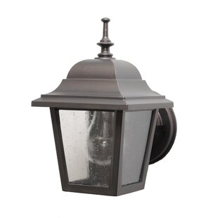 Find for Flannigan 1-Light Outdoor Wall lantern By Charlton Home