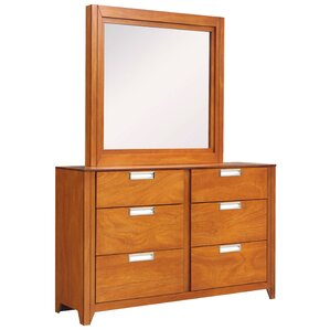 Solar 6 Drawer Dresser wit..