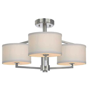 Cervantes 3-Light Semi-Flush M..