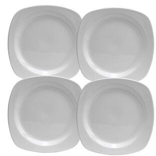 Chef\u0027s Table 10\  Dinner Plate (Set of 4)  sc 1 st  Wayfair & Fat Chef Plates | Wayfair