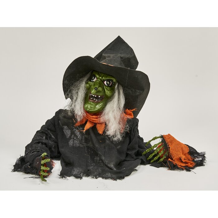 Ground Breaking Witch Figurine